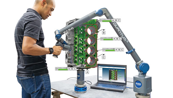 FARO introduces CAM2 2019 metrology software