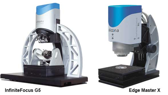 Infinite Focus for precision geometry of cutting tools
