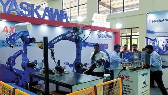 YASKAWA showcased its futuristic automation solutions at Intec 19