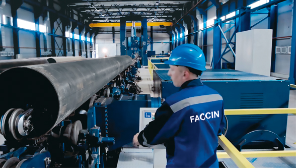 Faccin technology to support the production of natural gas pipelines
