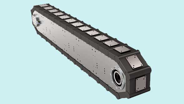 Bettinelli's high precision link conveyors