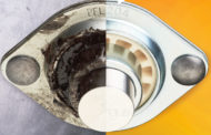 Lubrication-free igus spherical balls available with sheet metal housing