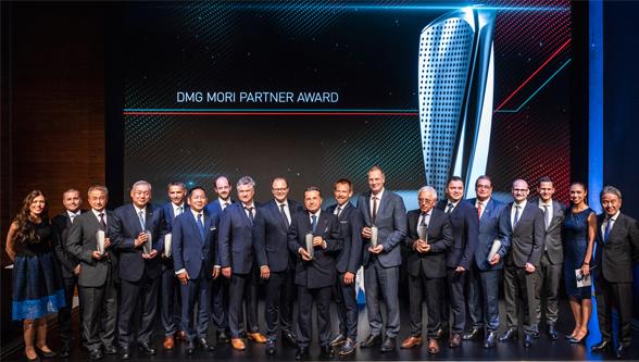 DMG MORI honors seven partners