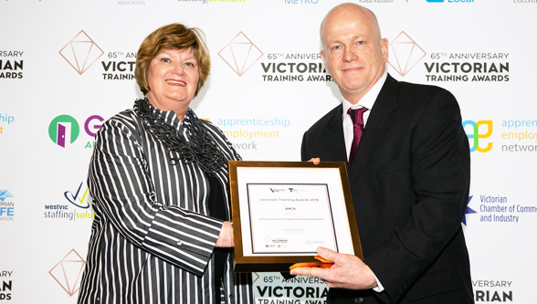 ANCA in the finals at the 65th Victorian Training awards