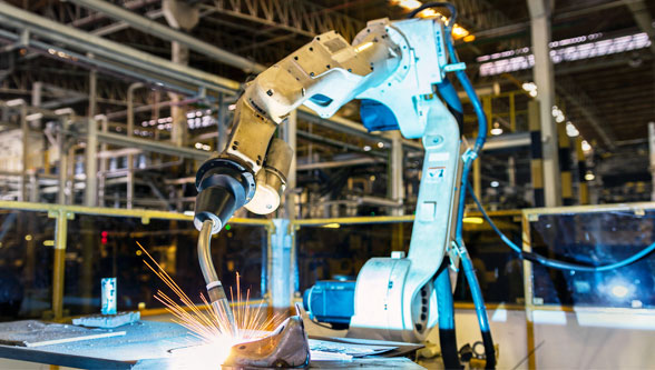 Robotic welding safety tips