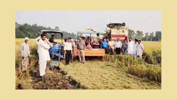 Farm machinery banks 'disappear' in Bathinda