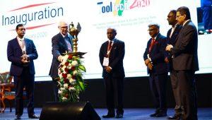 Lamp Lighting at Inauguration - IMTEX FORMING 2020