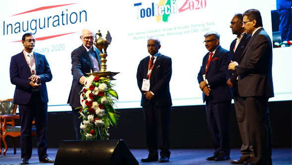 Imtex Forming 2020 & Tooltech 2020 inaugurated