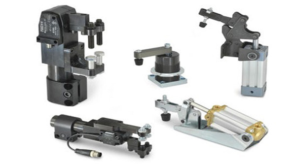 Effective pneumatic clamping