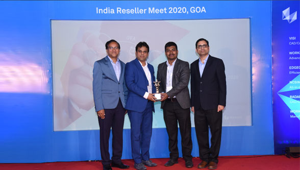 Hexagon's Production Software conducts reseller meet 2020 at Goa