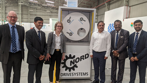 NORD DRIVESYSTEMS expands facility in Pune