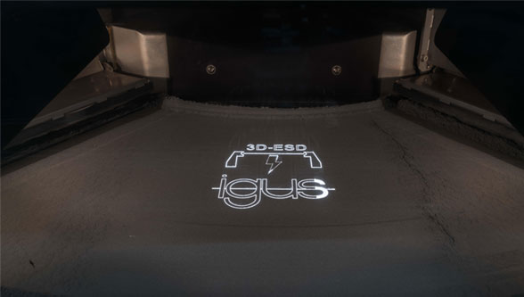 igus SLS material for electrostatically conductive wear-resistant parts
