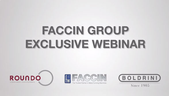 Leading Webinar for Tanks & Pressure Vessels Heads, Faccin Group