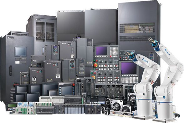Delta's comprehensive range of automation products