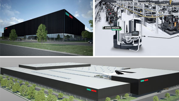 DMG MORI strengthens presence in China with highly automated and fully digitized production plant