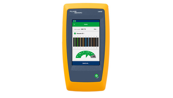 New Fluke Networks LinkIQ pinpoints the leading cause of Industrial Ethernet failures