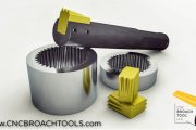 Indexable Broaching Systems for CNC Spline Broaching